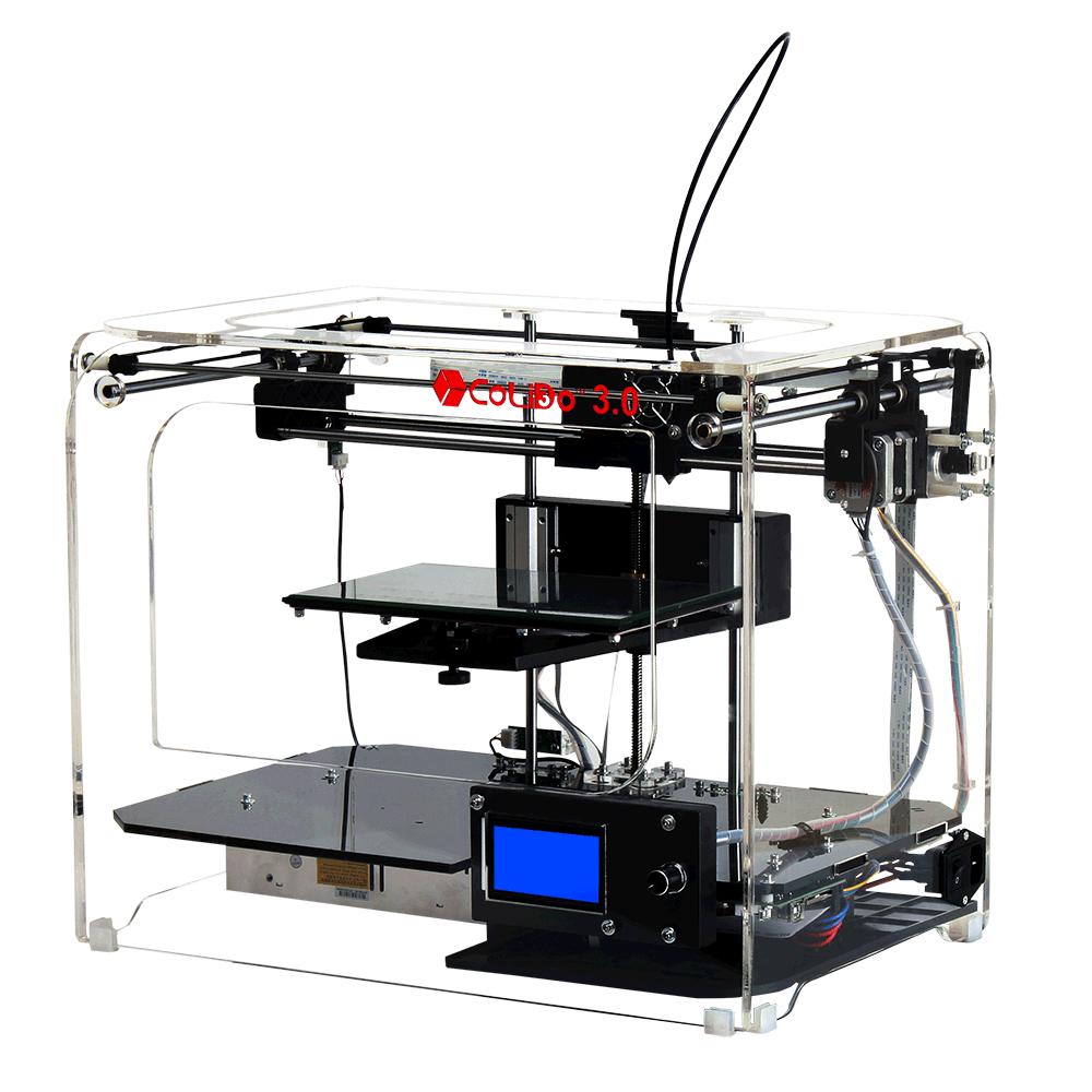 3.0 WiFi impressoras 3D CoLiDo