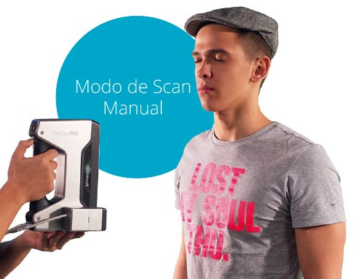 Scanner 3D profissional Colido EinScan Pro